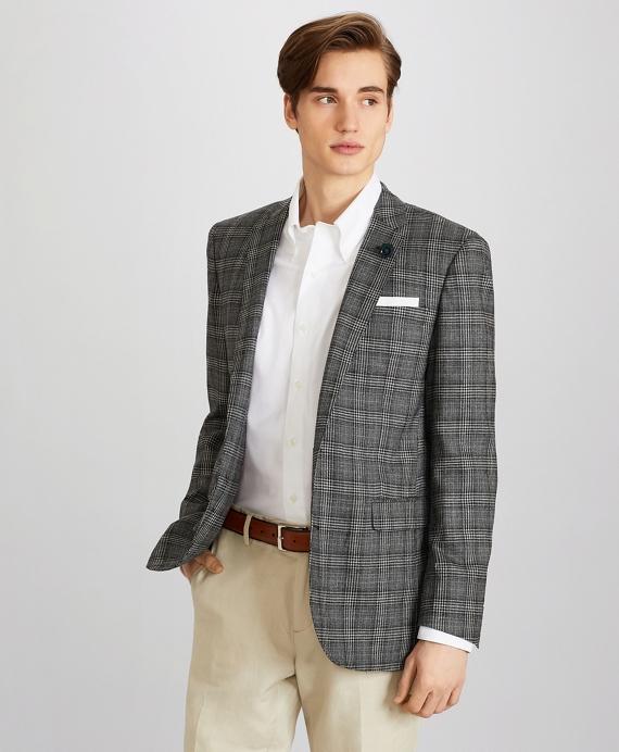 Milano Fit Check Sport Coat Grey