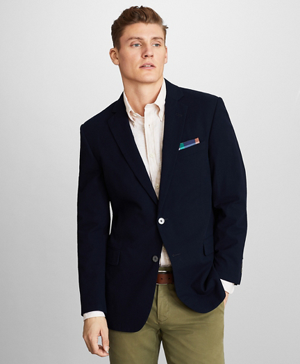 Regent Fit Seersucker Sport Coat