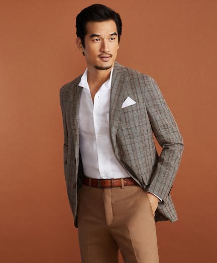 Golden Fleece® BrooksCloud™ Hemp-Wool Plaid Sport Coat