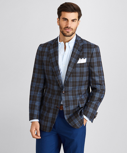 Regent Fit Glen Plaid Sport Coat