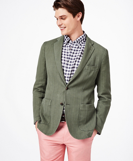 Milano Fit Garment-Dyed Sport Coat