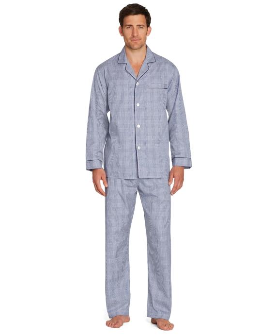 Plaid Pajamas Blue