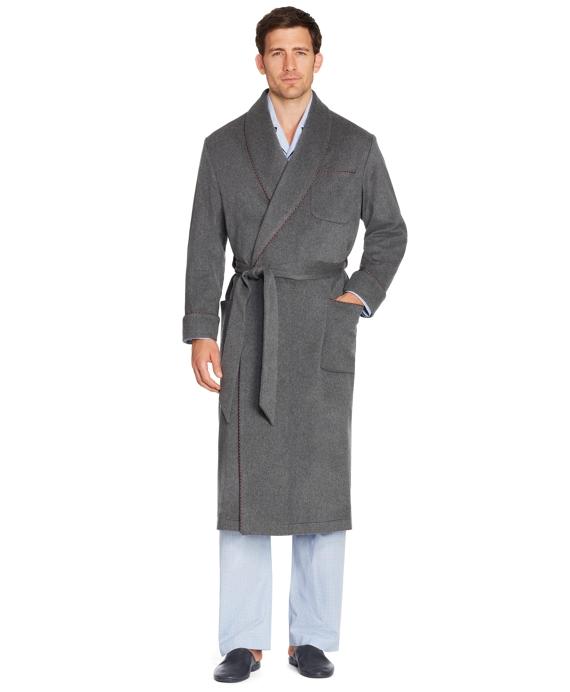 Cashmere Robe Grey