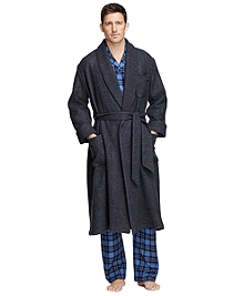 Cashmere and Wool Robe