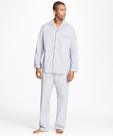 Plaid with Deco Pajamas