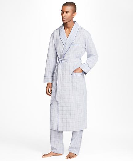 Plaid with Deco Robe