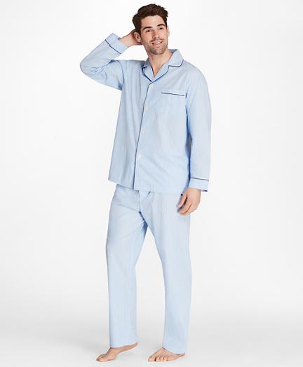 Alternating Split Stripe Pajamas