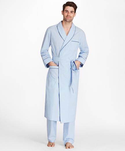 Sidewheeler Gingham Robe