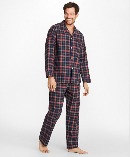 677316e6d5 Signature Tartan Flannel Pajamas. remembertooltipbutton
