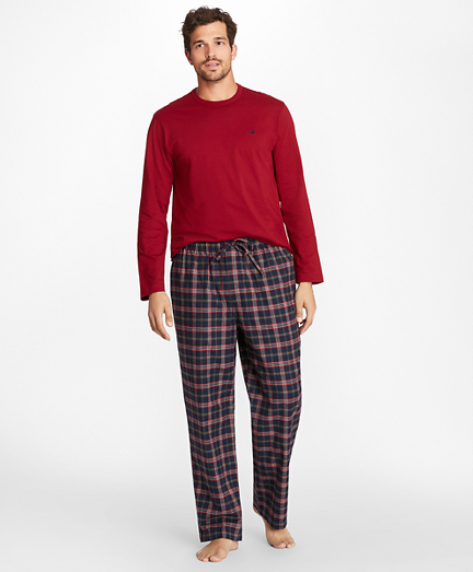 Signature Tartan Flannel Lounge Set