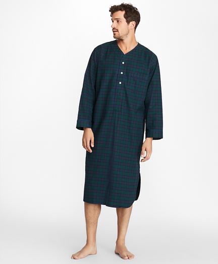 Black Watch Flannel Nightshirt