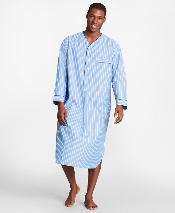 Stripe Nightshirt Blue