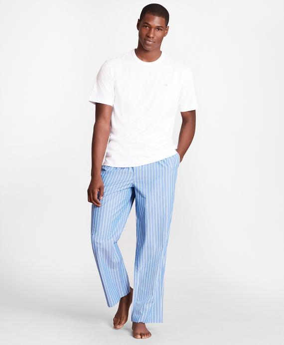 Stripe Lounge Set Blue