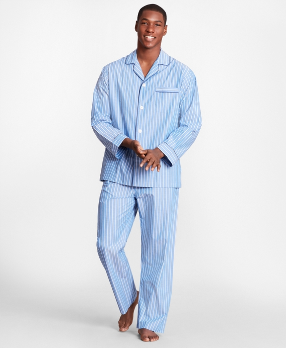 Stripe Pajamas Blue