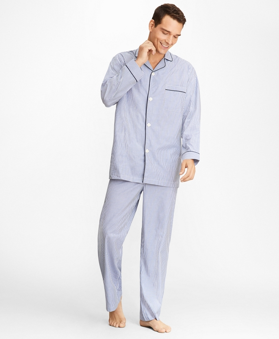 Stripe Pajamas Navy