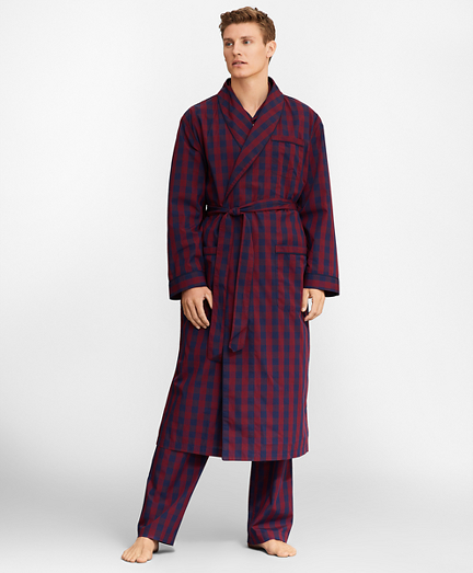Buffalo Check Robe