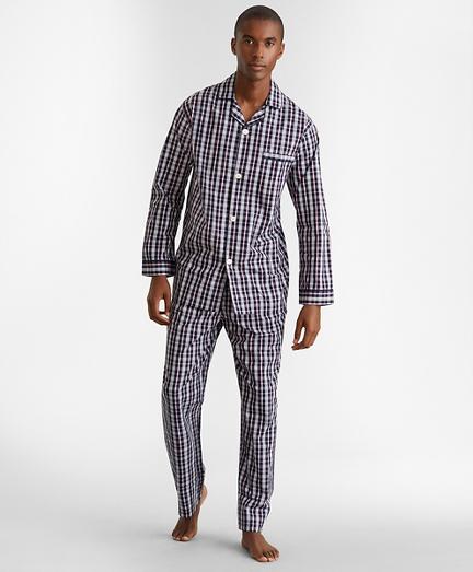 Double-Plaid Pajamas