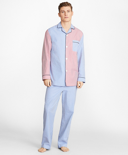Seersucker Fun Pajamas