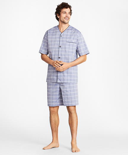 Plaid Short Pajamas