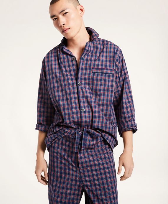 Tartan Pajamas Navy