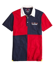 Prosport® Quarter Color-Block Polo Shirt
