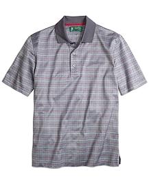 St. Andrews Links Windowpane Polo Shirt
