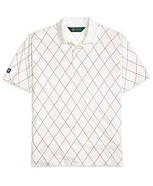 St Andrews Links Argyle Polo Shirt