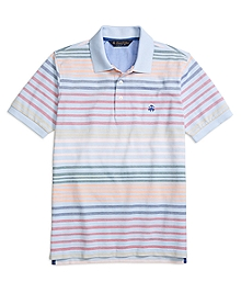 Original Fit Uneven Stripe Polo