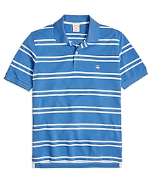 Original Fit Double Stripe Polo Shirt