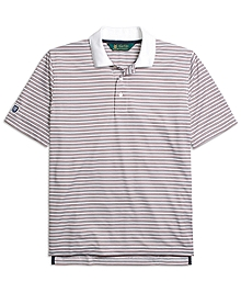 St Andrews Links Fine Stripe Polo Shirt