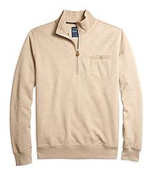 Solid Half-Zip Pullover