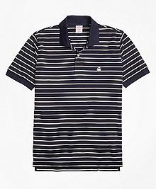 Original Fit Two-Color Stripe Polo Shirt