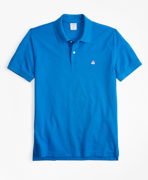 Slim Fit Supima® Cotton Performance Polo Shirt by Brooks Brothers