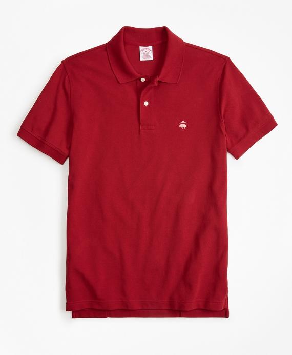 Original Fit Supima® Cotton Performance Polo Shirt Red
