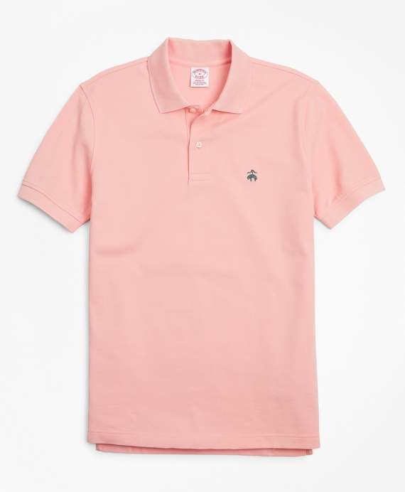Original Fit Supima® Cotton Performance Polo Shirt Soft Pink