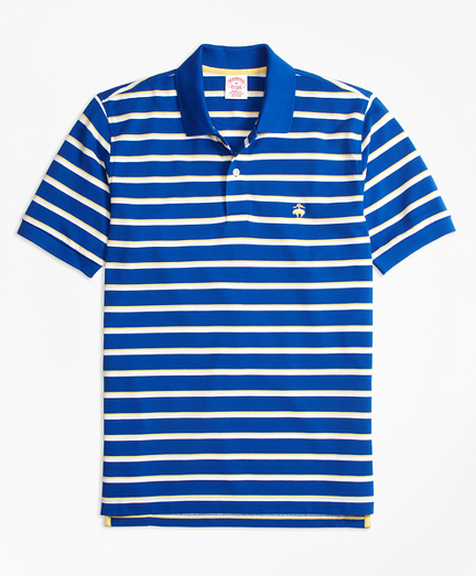 Original Fit Supima® Cotton Pique  Classic Stripe Polo Shirt