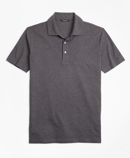 Slim Fit Supima® Cotton Interlock Polo Shirt