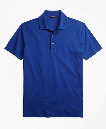 Original Fit Supima® Cotton Interlock Polo Shirt