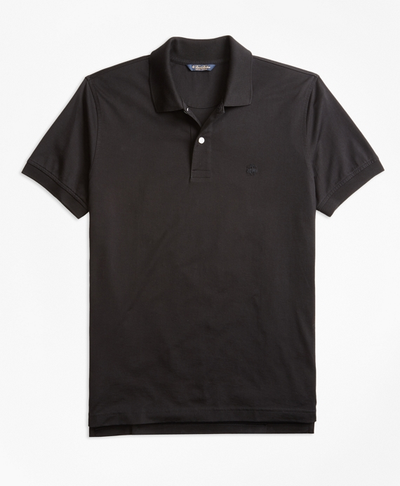 Slim Fit Supima® Compact Jersey Polo Shirt by Brooks Brothers