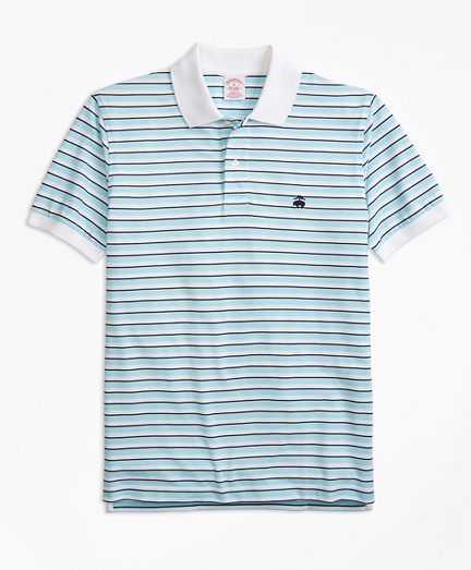 Original Fit Supima® Oxford Stripe Polo Shirt