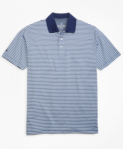 Performance Series Mini-Feeder Stripe Polo Shirt