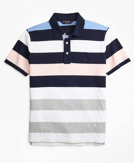 Original Fit Roadmap Bold Stripe Polo Shirt