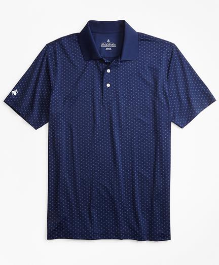 Performance Series Paisley Print Polo Shirt