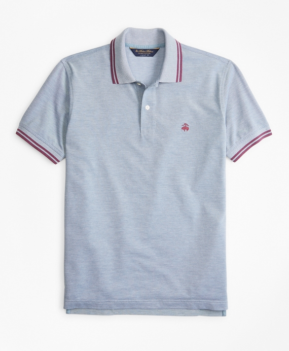 Original Fit Vintage Tennis Polo Blue