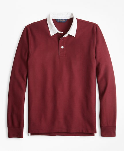 Slim Fit Rugby Shirt