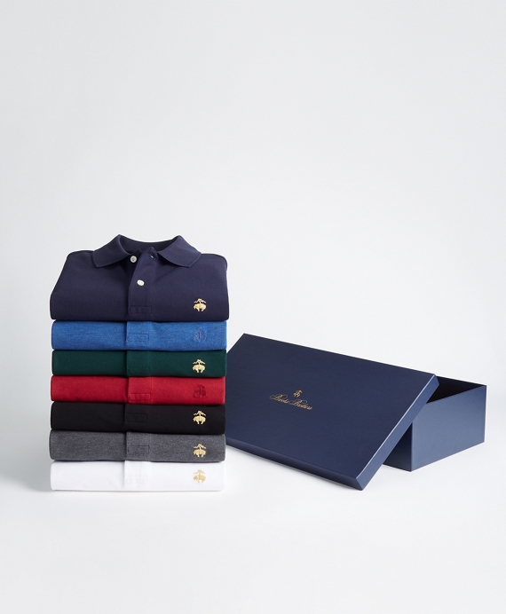 The Classics - Seven-Piece Slim Fit Performance Polo Gift Set Classics