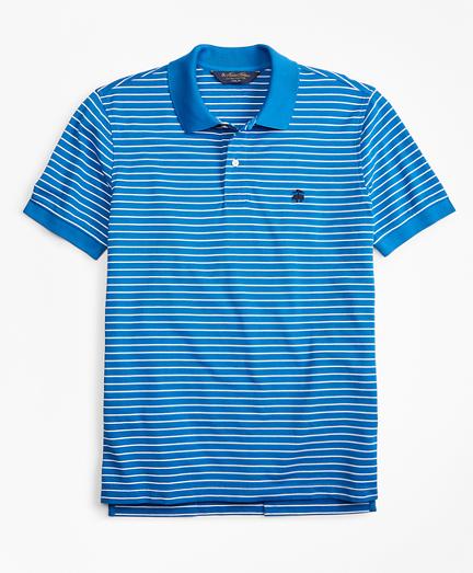 Slim Fit Supima® Stripe Polo Shirt