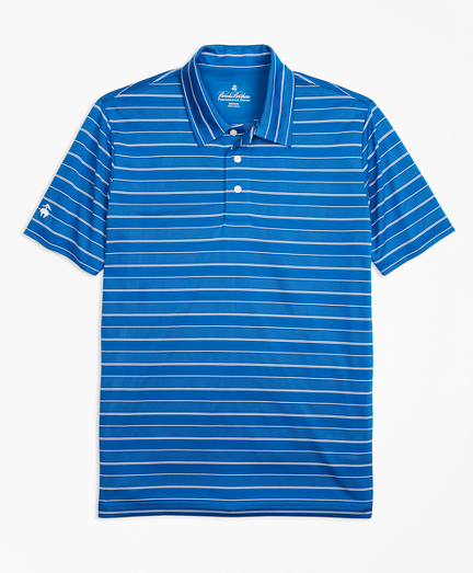 Performance Series Bird's-Eye Stripe Polo Shirt