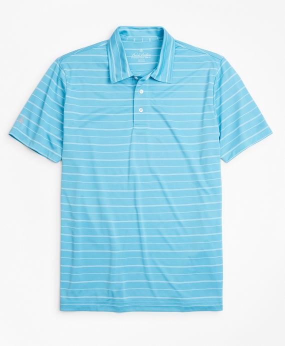 Performance Series Bird's-Eye Polo Shirt Blue