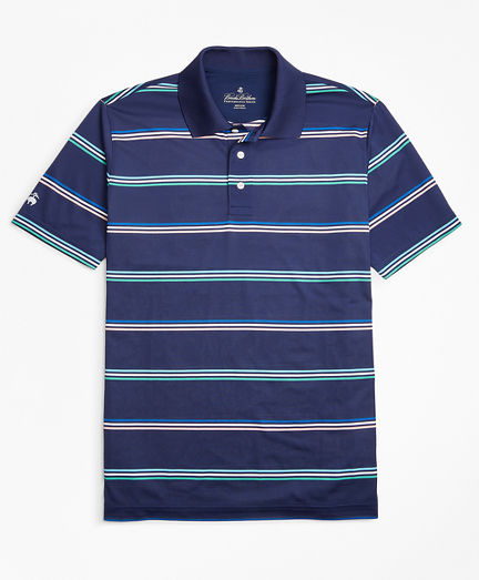 Performance Series Fun Stripe Polo Shirt